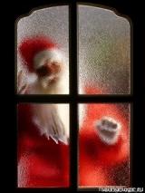 новогодняя картинка, дед мороз