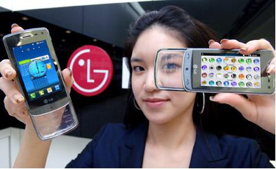 мобильный телефон lg-gd900-crystal